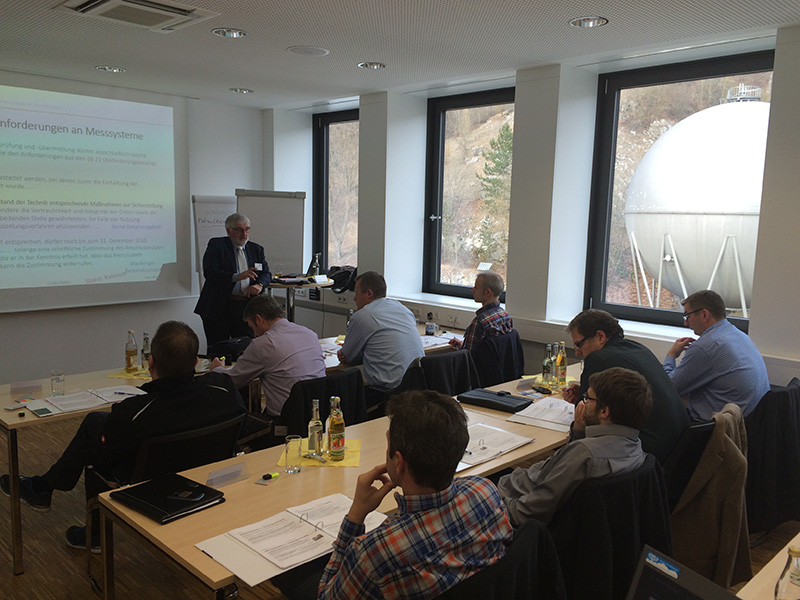 Workshop Messstellenbetriebsgesetz am 26.01.2016 in Heidenheim